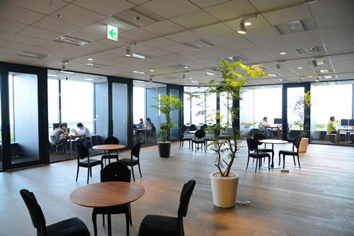ファッショーネさんのオフィス風景